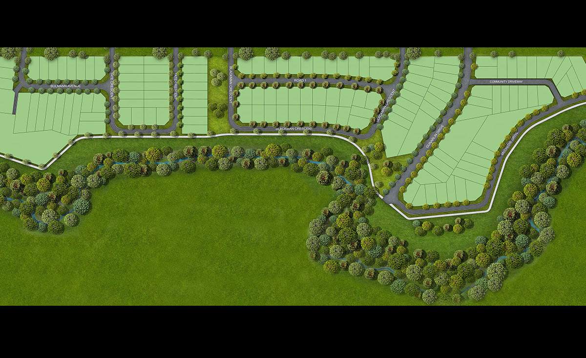 Spurway Drive Masterplan